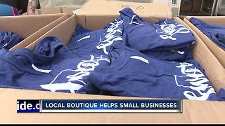 New Plymouth boutique helps small businesses - Video