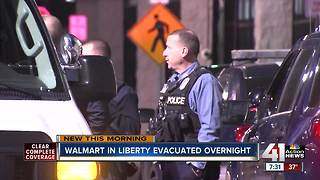 Wal Mart evacuated during search for gunman - Video