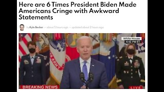 6 Times President Biden Made Americans Cringe with Awkward Statements
