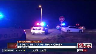 Two dead in Lincoln crash - Video