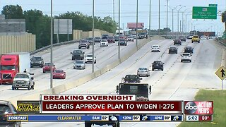 Hillsborough County leaders vote yes on widening I-275