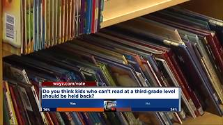 New third-grade reading law in Michigan - Video