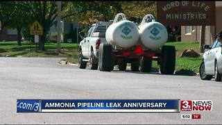 1-year since ammonia leak killed Tekamah man - Video
