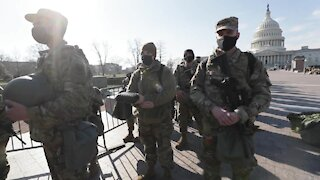 Military Fortifies Washington DC - U.S. Capitol Under Military Occupation