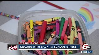 Dealing with back to school stress - Video
