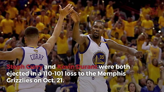 Warriors Have Had A Startling Amount Of Players Ejected This Season - Video