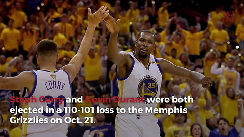 Warriors Have Had A Startling Amount Of Players Ejected This Season