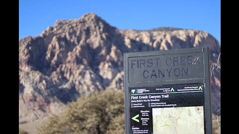 Red Rock Canyon - First Creek Canyon Hike