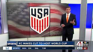 KC moves up in World Cup bidding process - Video