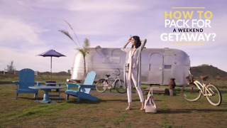 What to pack for a weekend getaway? - Video