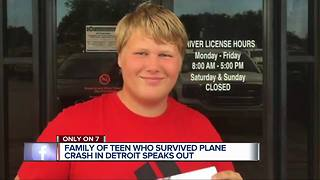 Teen who survived Detroit plane crash continues to recover, needs help with bills - Video