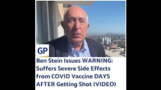 Ben Stein Issues WARNING About The Covid Vaccine