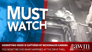 Everyone Who Watches Video Of McDonald's Drive-Thru Can't Help But Cry [video] - Video