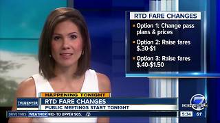 RTD fare changes - Video