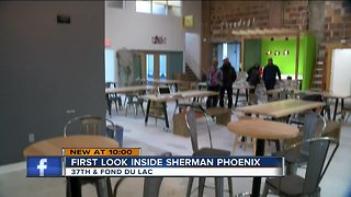 Inside: Sherman Phoenix rises from the ashes