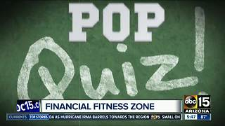 Pop Quiz: Are you knowledgeable about money? - Video