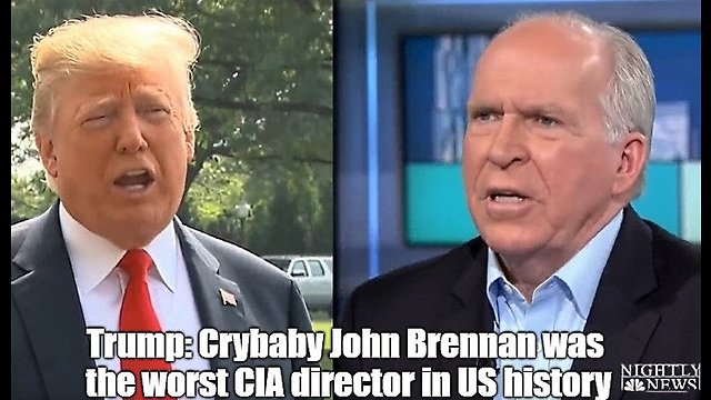 Trump: John Brennan was the worst CIA director in US history