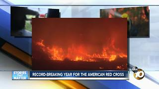 Record-breaking year for American Red Cross - Video
