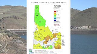 Dry March contributes to a below-average water outlook in Idaho