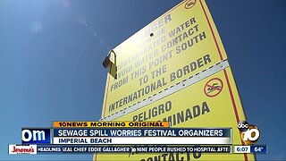 Sewage spill could impact Sun and Sea Festival