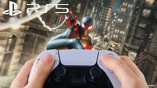 PlayStation 5 Review + Gameplay Spiderman + First impressions