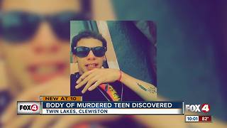 Body of murdered teen discovered - Video