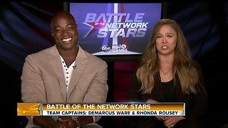 Demarcus Ware and Ronda Rousey Join Us to Talk About Their New Show on ABC! - Video