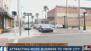 Ybor City upgrades attracting more business - Video