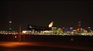 President and Vice President visit Las Vegas, tour helicopter companies impacted