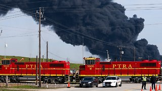 Houston Shipping Traffic Snarls As Petrochemical Plant Fire Reignites