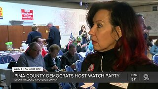 Pima County democratic party holds watch party on Super Tuesday