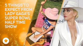 What's Lady Gaga planning for her Super Bowl Show? - Video