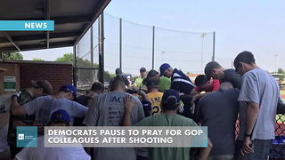 Democrats Pause To Pray For GOP Colleagues After Shooting - Video