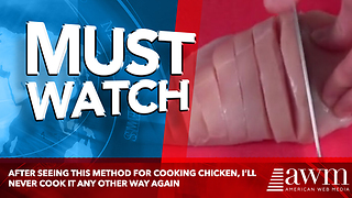 After Seeing This Method For Cooking Chicken, I'll Never Cook It Any Other Way Again - Video
