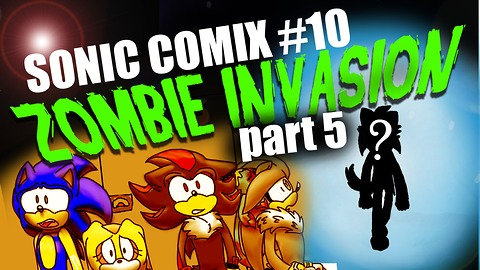 Sonic the Hedgehog faces a zombie invasion