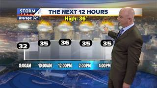 Warmer weekend ahead - Video