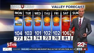 T-storms possible for Kern County! - Video