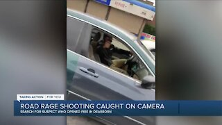 Road rage caught on camera in Dearborn