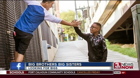 Big Brothers Big Sisters encouraging role models to join