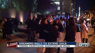 Hundreds rally for Dreamers in danger of deportation - Video