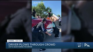 Driver hits protesters in crowd at Black Lives Matter rally in Tulsa