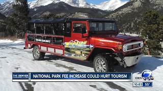 Rocky Mountain National Park fee hike could hurt adventure tourism business - Video