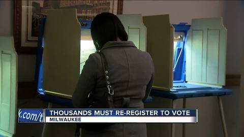 Thousands must re-register to vote after glitch in system