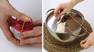 6 Incredible rubber band hacks - Video