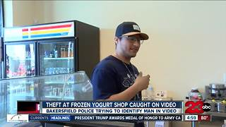 "Theft at ""Scoops & Swirls"" caught on video, BPD investigating"