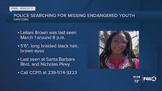 Cape Coral Police search for missing teen