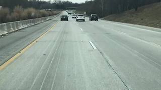 Maryland State Highways crews pre-treating roads ahead of winter weather - Video