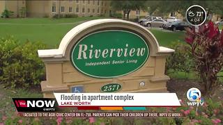 Seniors flooded out of apartments in Lake Worth