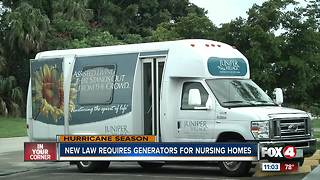 Local assistant living facility working to meet state generator mandate - Video