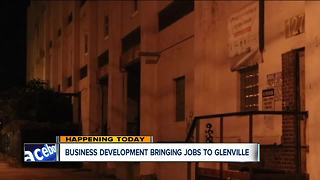 Business development bringing to Glenville - Video